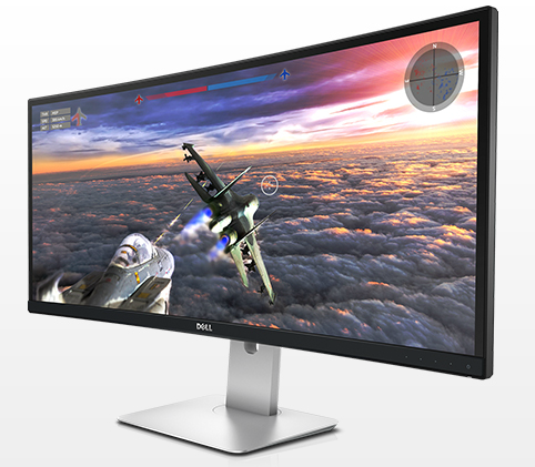"$795  Dell UltraSharp U3415W 34"" Curved IPS LED Monitor"