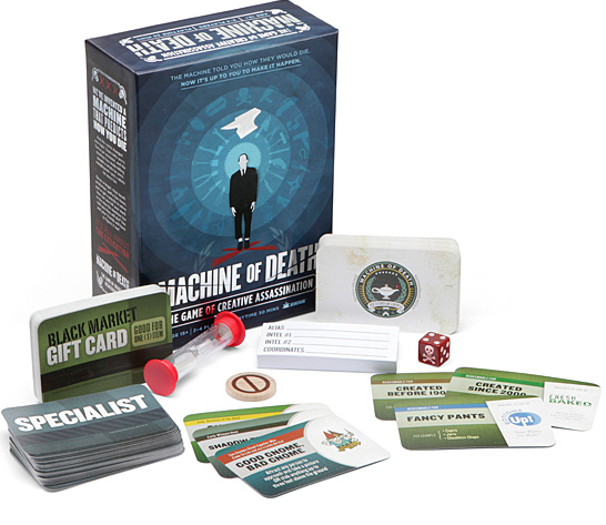 From $4.99Machine of Death, The Game of Creative Assasination Board Game