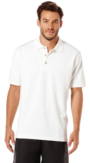 $12Cubavera Men's Traditional Polo Shirt