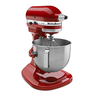 KitchenAid Pro Series 450 4.5-qt Empire Red Bowl-Lift Stand Mixer