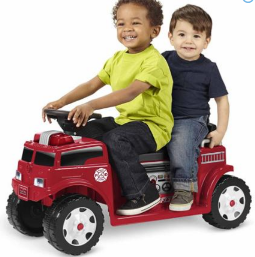 $79 Radio Flyer 906 Battery Operated Fire Truck