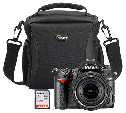 $629.99 Nikon D7000 DSLR Camera Bundle