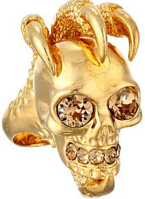 Up to 55% off Select Alexander McQueen Jewelry @ 6PM