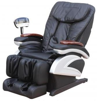 $669.99 + Free Shipping New Full Body Shiatsu Massage Chair Recliner w/Heat Stretched Foot Rest EC-06C