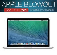 Save Up to $599 Apple Blowout @ MacMall