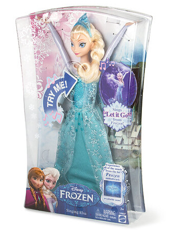50% OffSinging Elsa Doll at Claire's
