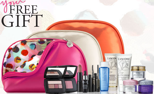 Free 7 Piece Gift Set + Free Shipping With Over $60 Purchase @ Lancome