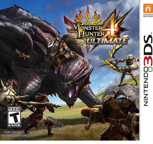$39.99 + $10 Gift Card Monster Hunter 4 Ultimate - Nintendo 3DS