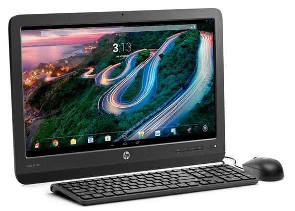 "$215.99 HP Slate21 Pro All-in-One Android PC with 21"" Full HD Touchscreen Display and NVIDIA Quad-Core Processor"