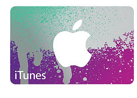 $40 $50 iTunes Gift Card