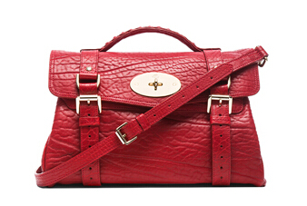 MULBERRY Alexa in Poppy Red