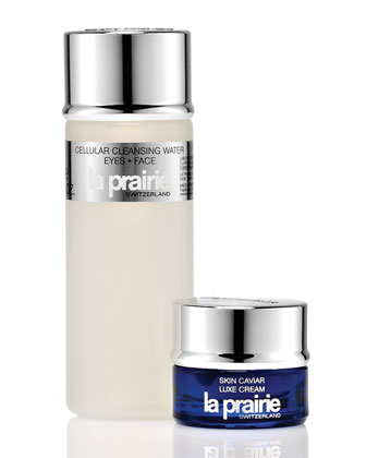 Free 2pcs Gift + Free Tote Bag  Filled With Deluxe Samples With $400 La Prairie Purchase @ BergdorfGoodman.com