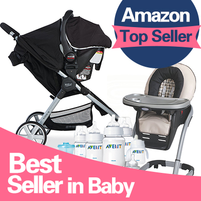From $6.89 #1 Best Seller Baby Items Roundup @ Amazon