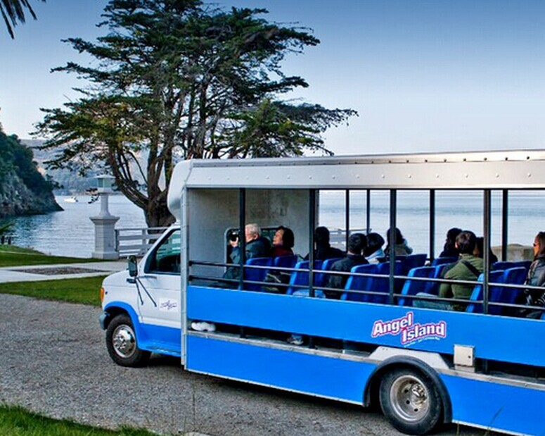 From $15 Historic Angel Island Tram Tour