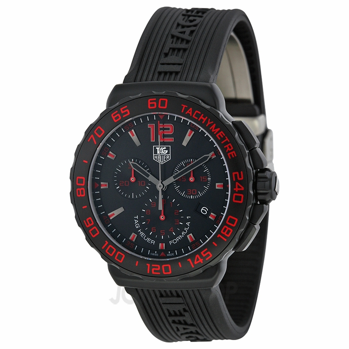 $1195 Tag Heuer Formula 1 Mens Watch CAU111DFT6024