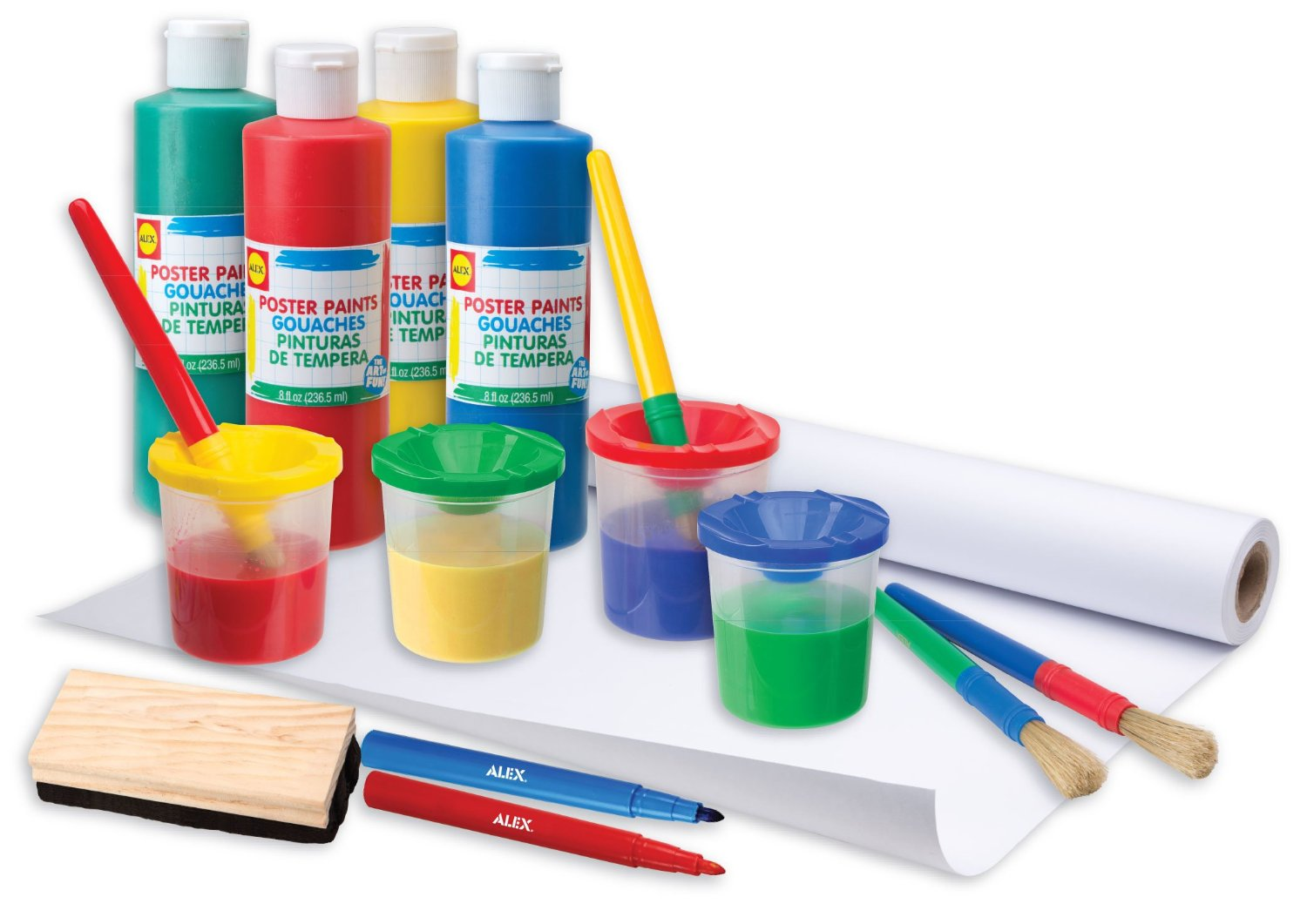 ALEX Toys - Artist Studio, Ultimate Easel Accessories Painting Kit, 21E