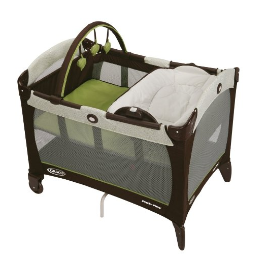 $59.98 Graco Pack 'n Play Playard with Reversible Napper and Changer, Go Green