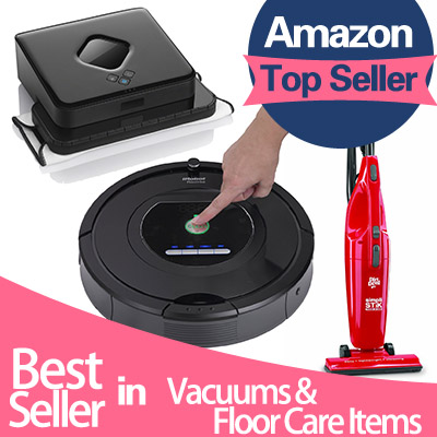 From $16.44 #1 Best Vacuums & Floor Care Items Roundup @ Amazon