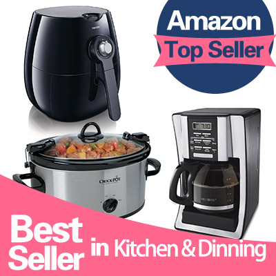 From $9.99 #1 Best Seller Kitchen & Dinning Roundup @ Amazon