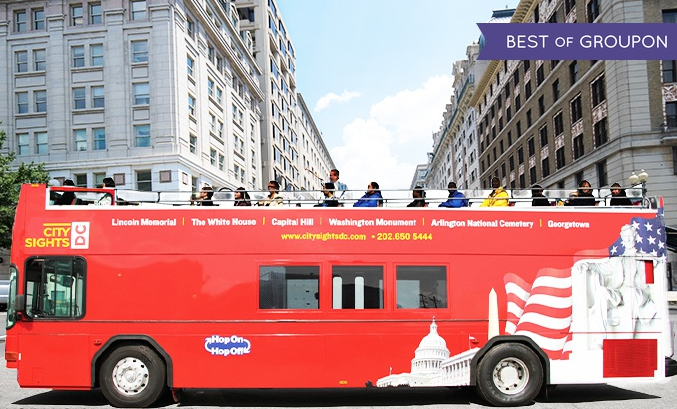 From $35 Bus Tour with Attractions from CitySights DC
