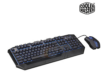 CM Storm Devastator - LED Gaming Keyboard & Mouse Combo (Blue LED Model)