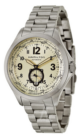 $458 Hamilton Khaki Aviation QNE Men's Watch H76655123 (Dealmoon Exclusive)
