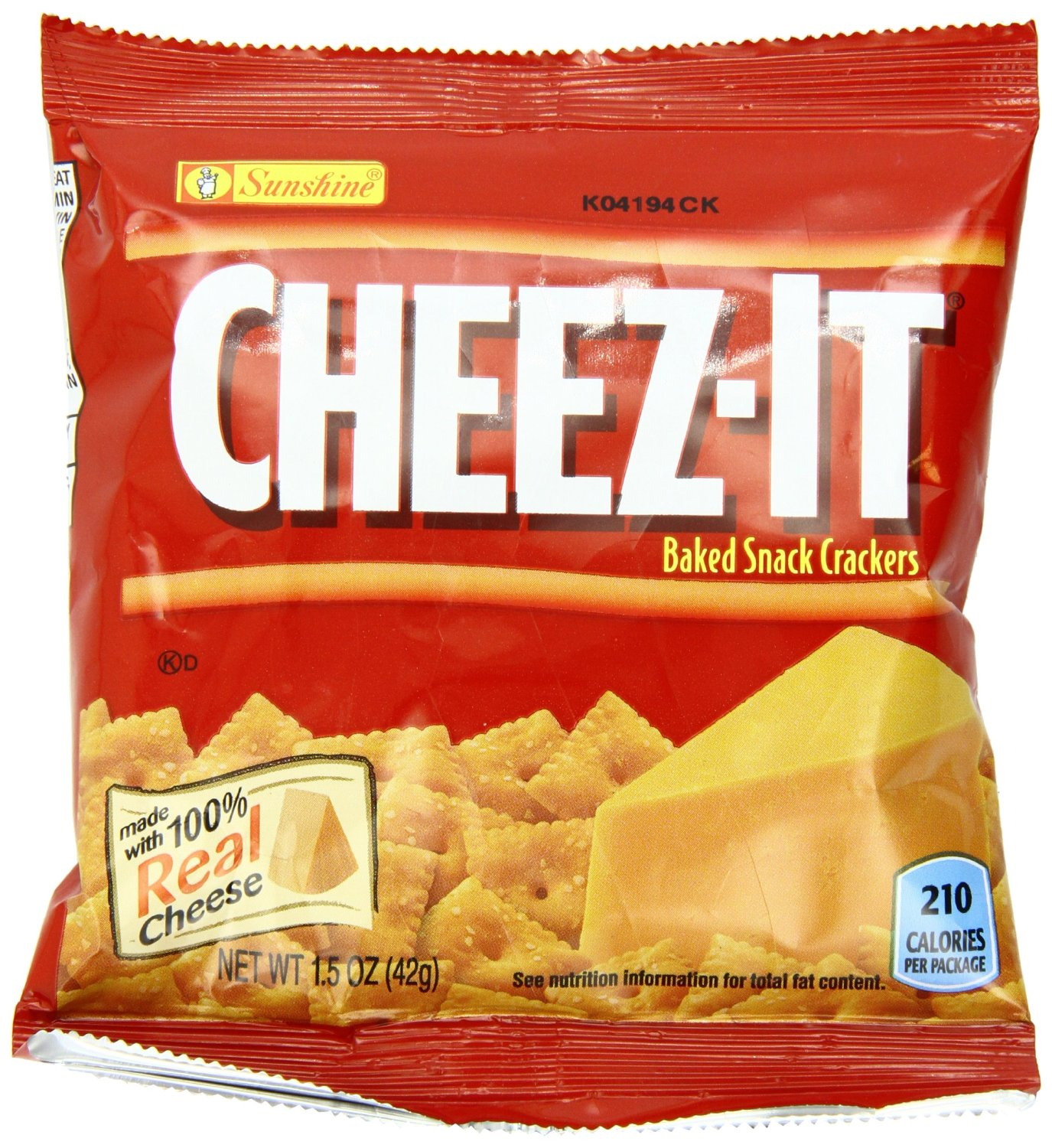 $8.67 Cheez-It Crackers, Original, 1.5-Ounce Packages (Pack of 36)