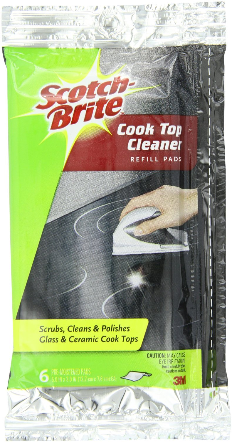 $2.49 Scotch-Brite Cooktop Cleaner Refill, 6-count
