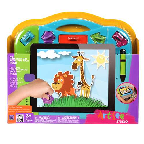 Free Wow Wee ArtSee Studio Protective Tablet Case - Works with iPad® 1/2/3, App for iOS 5 and iOS 6 - 0320