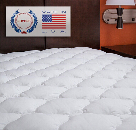 $84.99 ExceptionalSheets Extra Plush Fitted Mattress Topper