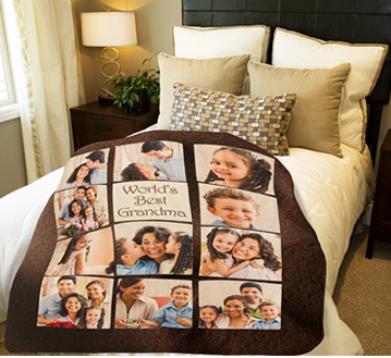 From $36 Personalized Blankets @ Walmart