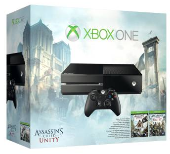 $349.99 Xbox One Assassin's Creed Unity Bundle + $50 Dell Gift Card
