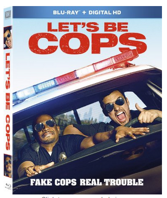 $5.99 Let's Be Cops, Blu-ray