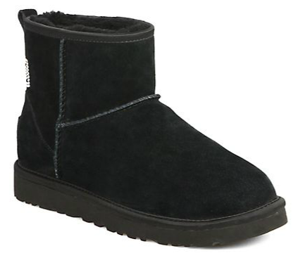 $70.00 UGG Australia Mini Shearling Crystal Ankle Boots