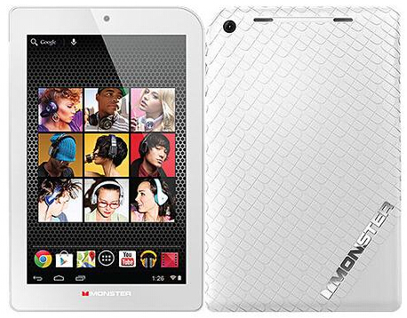 """$49.99 Monster M7 7"""" 16GB WiFi Android Tablet"""