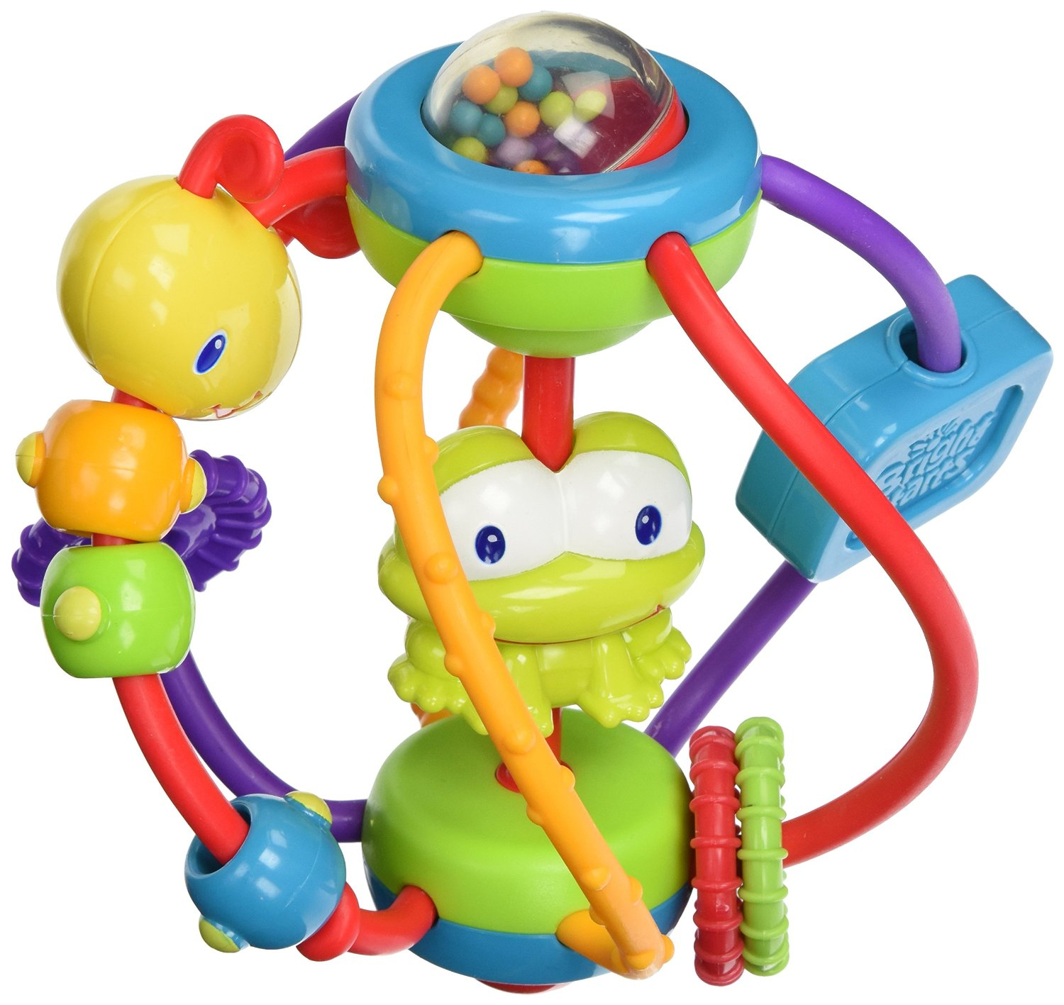 $7.99 Bright Starts Clack and Slide Activity Ball