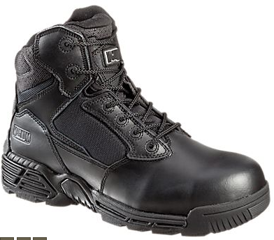 Magnum Stealth Force 6.0 Side Zip Safety Toe Tactical Boots for Men (Size 9.5)