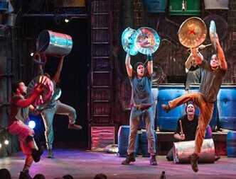 Off-Broadway Percussive Show 'Stomp'