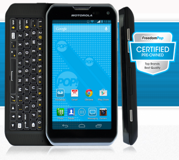80% Off + Free Shipping on Mobile Phone Bill and Motorola Photon Q 4G LTE Smartphone