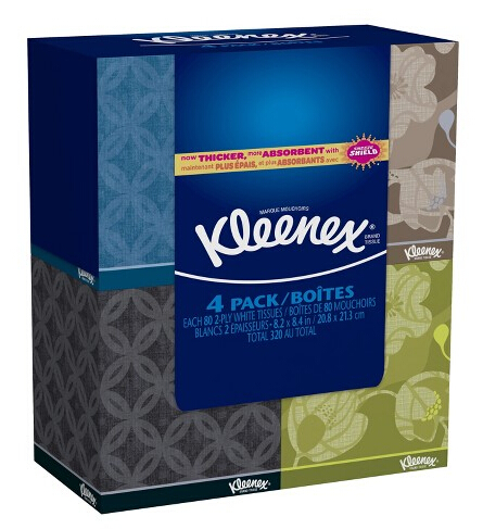 $5 Gift Card with Purchase of 3 Select Kleenex Pack @ Target.com