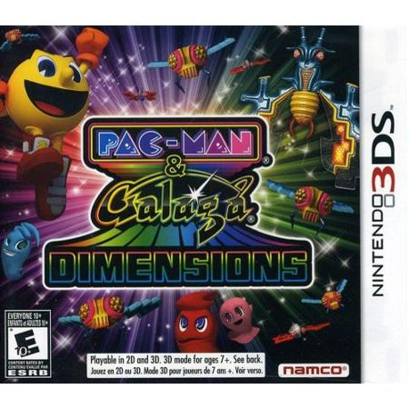 $10 Pac-Man and Galaga Dimensions (Nintendo 3DS)