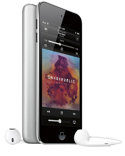 Apple 5th Gen iPod touch 16GB MP3 Player - Silver(Pre-owned)