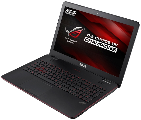 """$879.00 ASUS ROG Intel Haswell Core i7 2.5GHz 15.6"""" 1080p Notebook"""