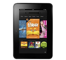 """$49.99 Pre-owned 16GB Amazon Kindle Fire HD 7"""" 1280x800 WiFi Tablet"""