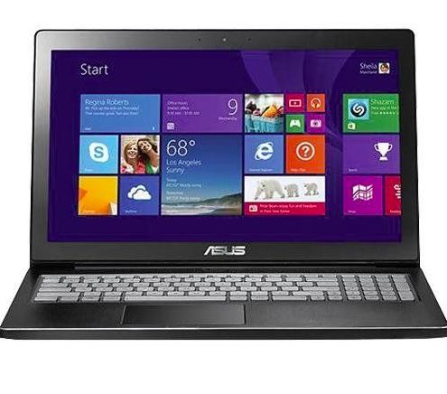"$449.99 Refurb  ASUS Q501LA-BSI5T19 4th Gen i5 15.6"" Touchscreen Laptop"