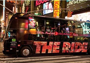 $45 'The Ride': Interactive NYC Tour Experience
