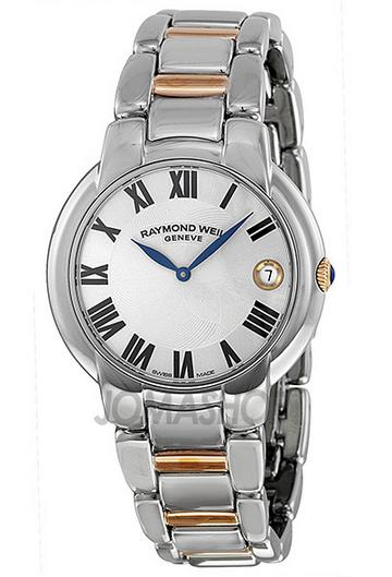 $469 Raymond Weil Jasmine Silver Dial Two-tone Stainless Steel Ladies Watch 5235-S5-01659