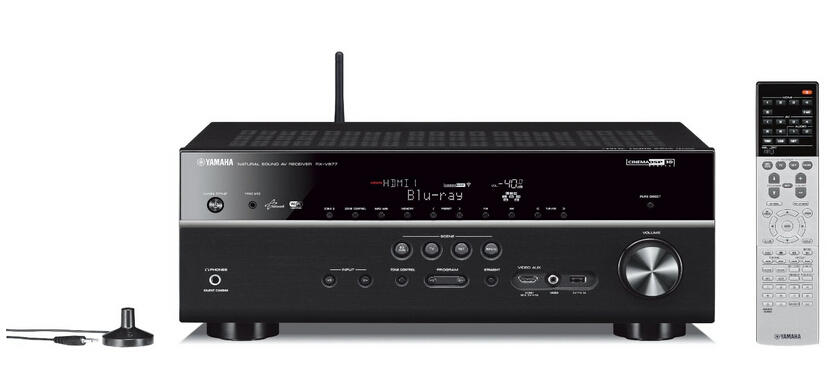 Yamaha RX-V677 7.2-channel Wi-Fi Network AV Receiver with AirPlay