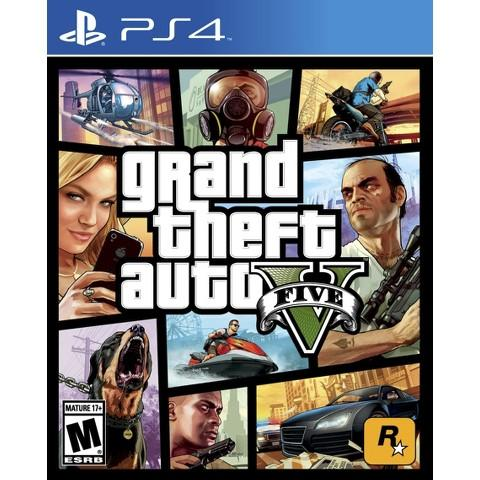 $39.99 Grand Theft Auto V PS4 or Xbox One