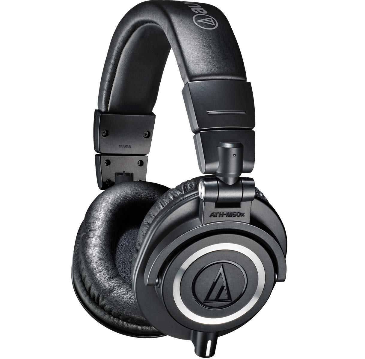 $129 Audio-Technica ATH-M50X Headphones